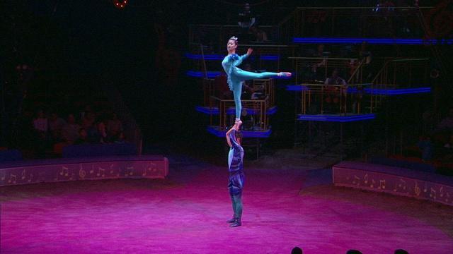 Circus Physics: Center of Mass