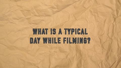 The Civil War -- Q & A: Typical Day