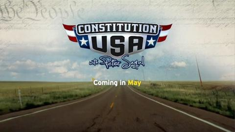 Constitution USA with Peter Sagal -- CONSTITUTION USA with Peter Sagal, Premieres Tues., May 7th