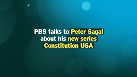 Constitution USA with Peter Sagal -- Peter Sagal on CONSTITUTION USA