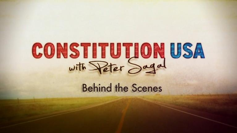 Constitution USA with Peter Sagal: Behind the Scenes with CONSTITUTION USA