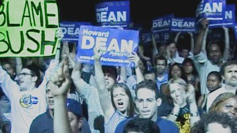 Howard Dean Discusses His Response to the Iraq War