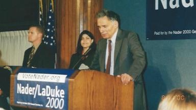 Ralph Nader Decides to Run in 2000