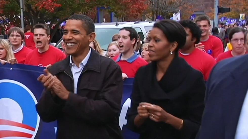 Obama's Ups and Downs in Iowa and New Hampshire image