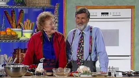 Julia Child and Graham Kerr Collaborate to Cook Duck