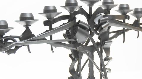 Craft in America -- Albert Paley designs forged hardware and chandeliers