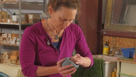 Craft in America -- Ceramic artist Susan Garson talks about materials