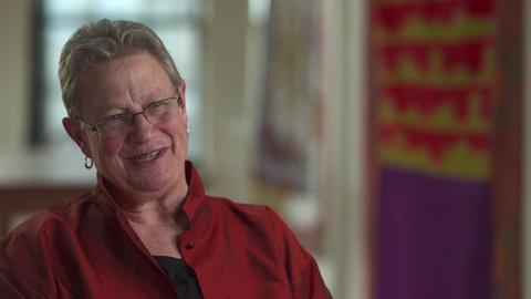 Craft in America -- S5: Julie Silber talks about her love of quilts