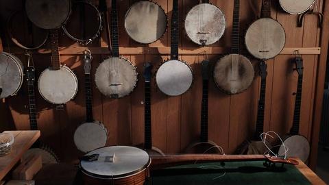 Craft in America -- Banjo Maker Jim Hartel on craft