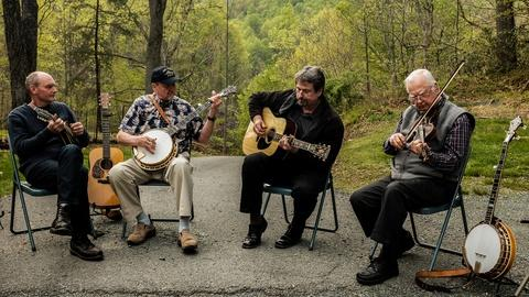 Craft in America -- S7: Geoff Stelling shows his custom banjo designs