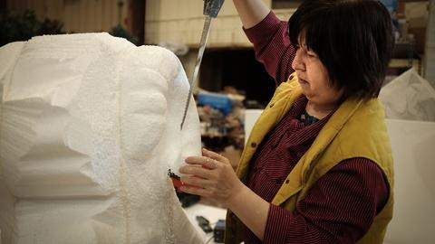 Craft in America -- S7 Ep2: Yumei Hou on the large ram in the Chinese New Year p