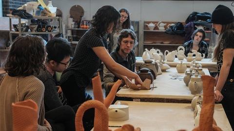 Craft in America -- S8: Matt Kelleher on teaching at Alfred University