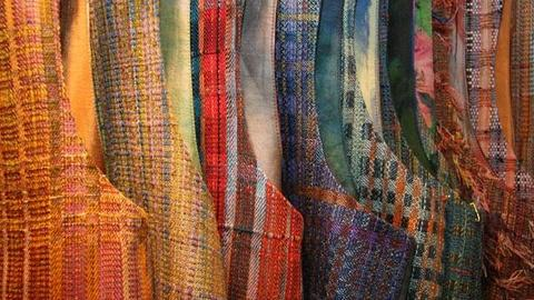Craft in America -- Weaver Randall Darwall on craft shows