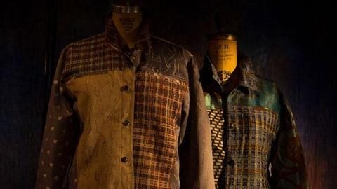 Craft in America -- Weaver Randall Darwall on garments