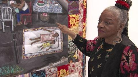 Craft in America -- Faith Ringgold on creating Tar Beach story quilt