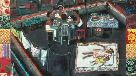 Craft in America -- Faith Ringgold on writing Tar Beach