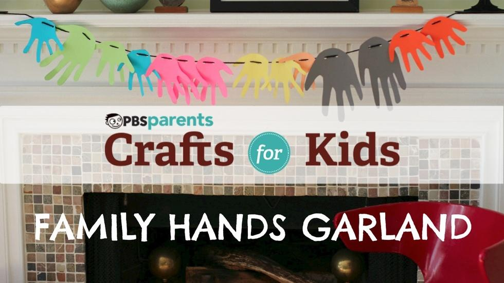 Family Hands Garland image