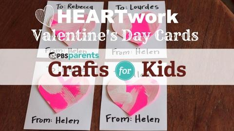 Crafts for Kids -- Valentine's Day HeARTwork