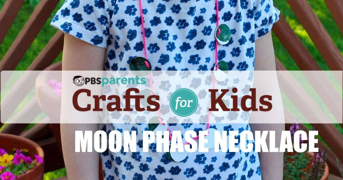 Moon Phase Shrinky Dink Necklace | Season 1 Episode 42