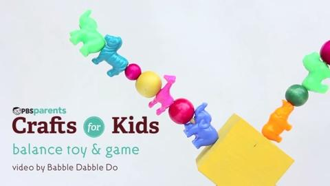 Crafts for Kids -- DIY Balance Toy & Game