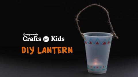 Crafts for Kids -- DIY Lantern