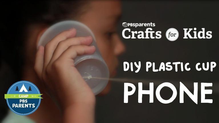 Crafts for Kids: DIY Plastic Cup Phones