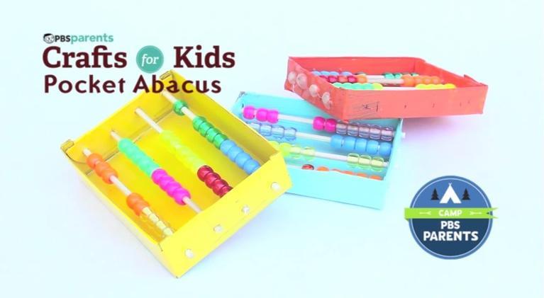 Crafts for Kids: Pocket Abacus