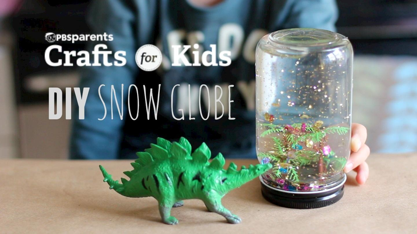 Homemade Snow Globes Crafts For Kids Pbs Kids For Parents