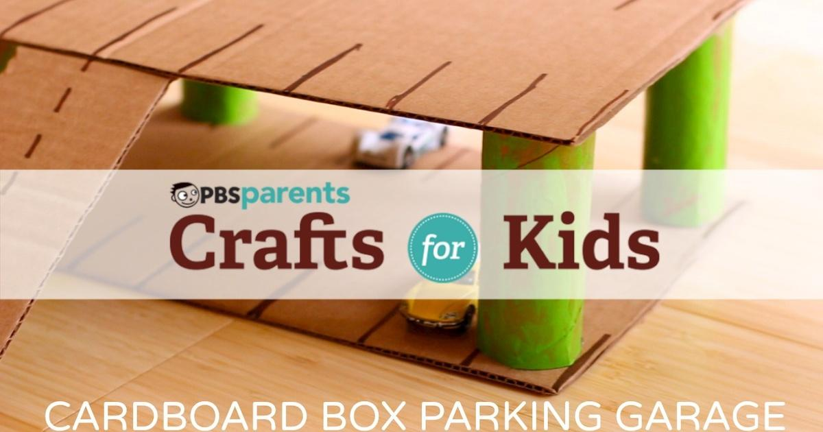 Cardboard Parking Garage Crafts For Kids Pbs