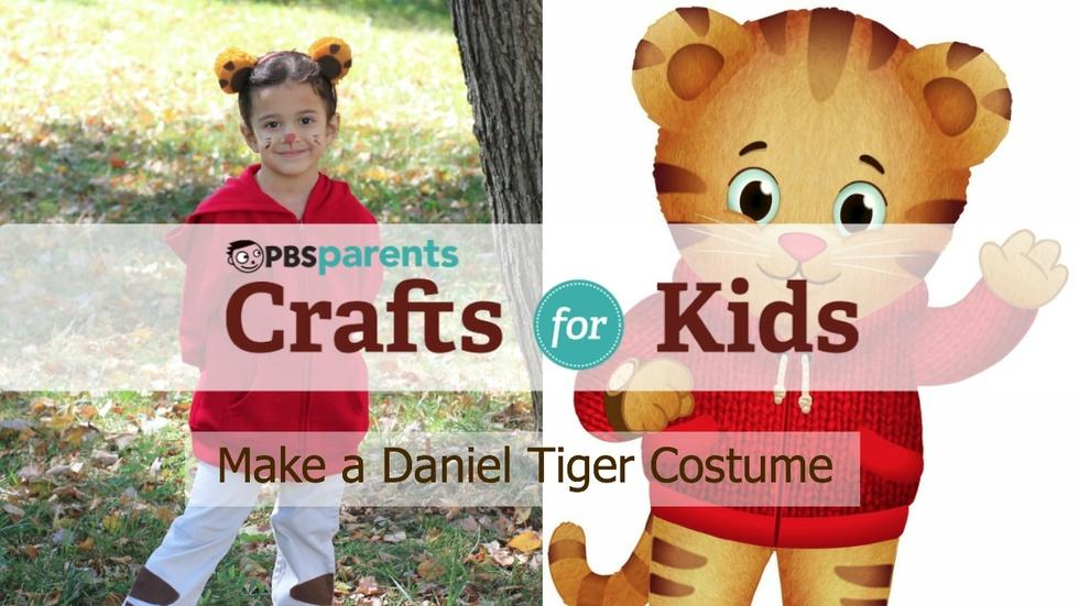 No-Sew Daniel Tiger Costume image