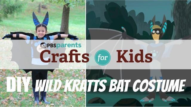 No-Sew Wild Kratts Bat Costume