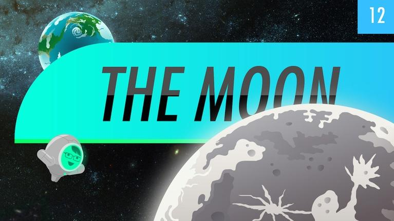 Crash Course Astronomy: The Moon: Crash Course Astronomy #12