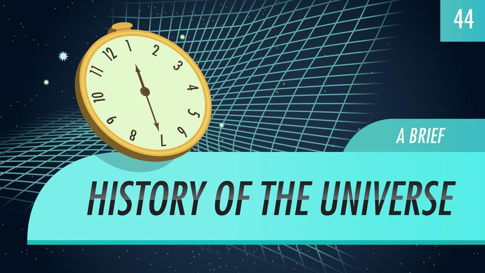 A Brief History of the Universe: Crash Course Astronomy #44 image
