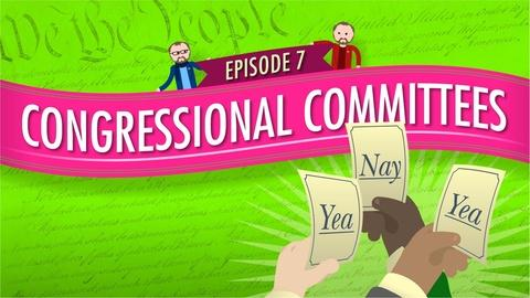Crash Course Government and Politics -- Congressional Committees: Crash Course Government #7