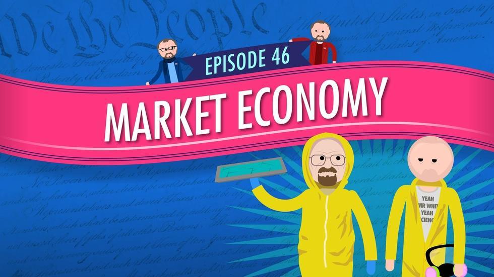 Market Economy: Crash Course Government #46 image