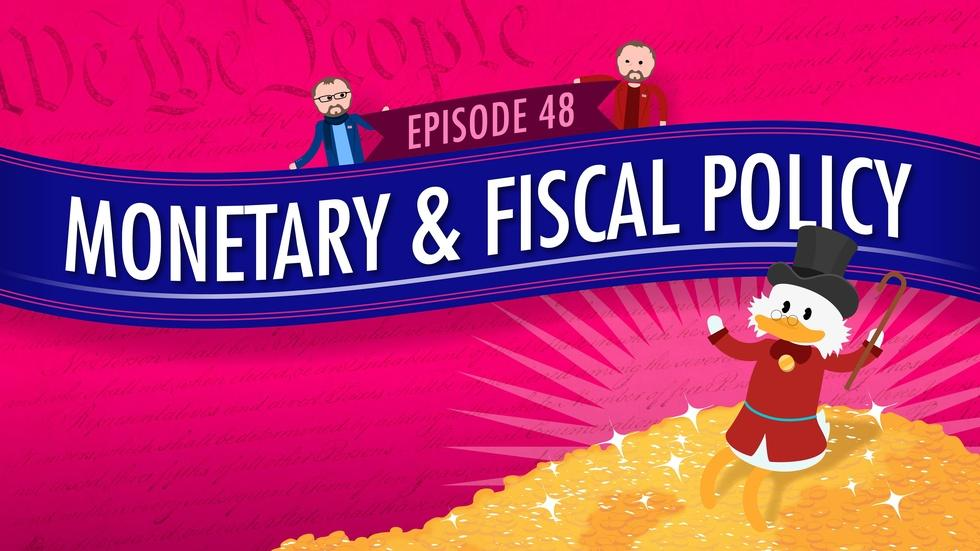 Monetary and Fiscal Policy: Crash Course Government #48 image