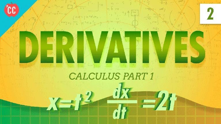 Crash Course Physics: Derivatives: Crash Course Physics #2