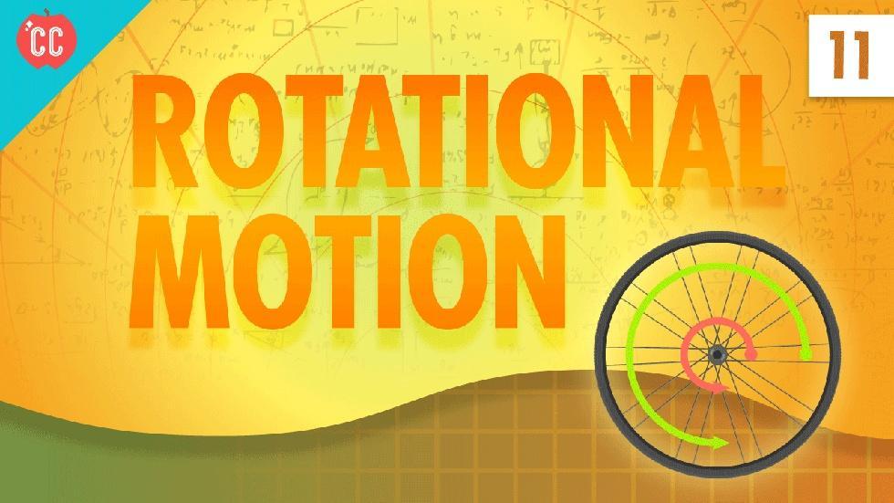 Rotational Motion: Crash Course Physics #11 image