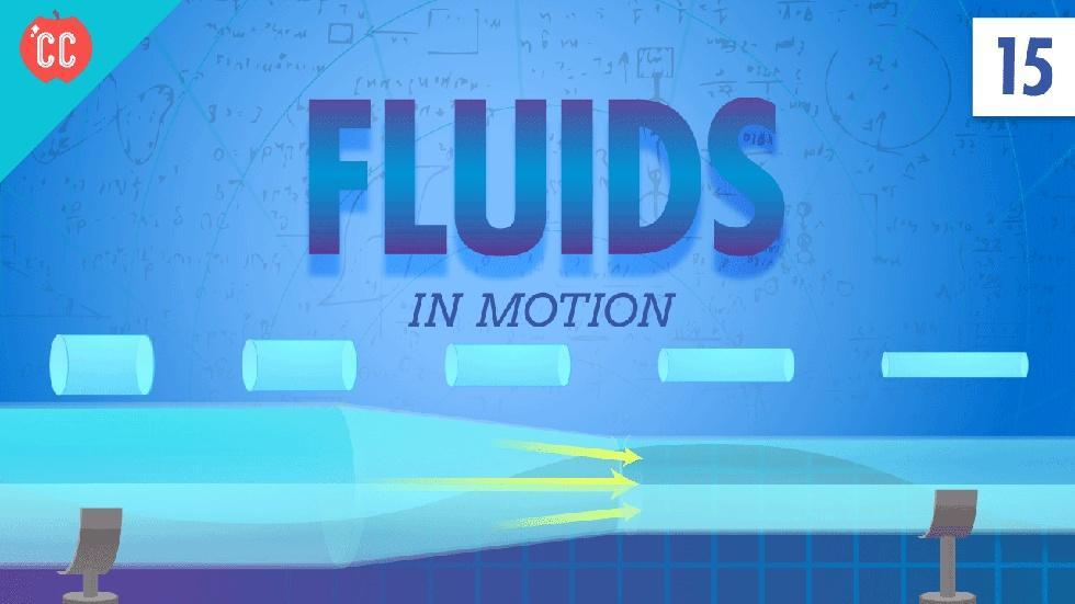 Fluids in Motion: Crash Course Physics #15 image