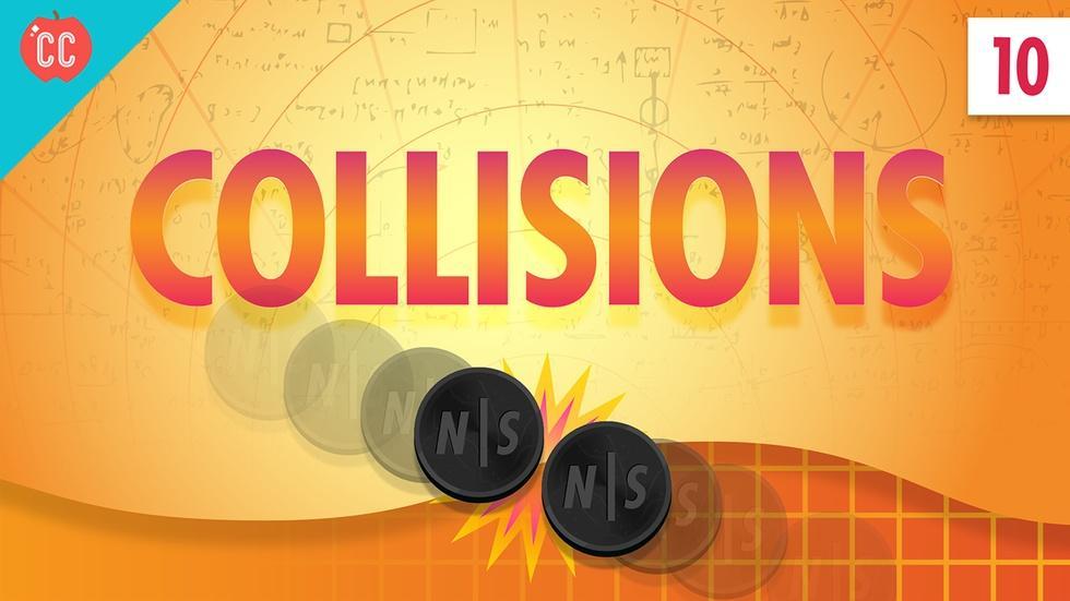 Collisions: Crash Course Physics #10 image