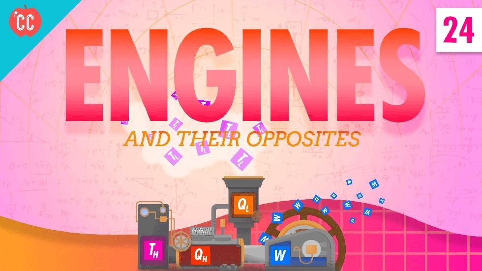 Engines: Crash Course Physics #24 image