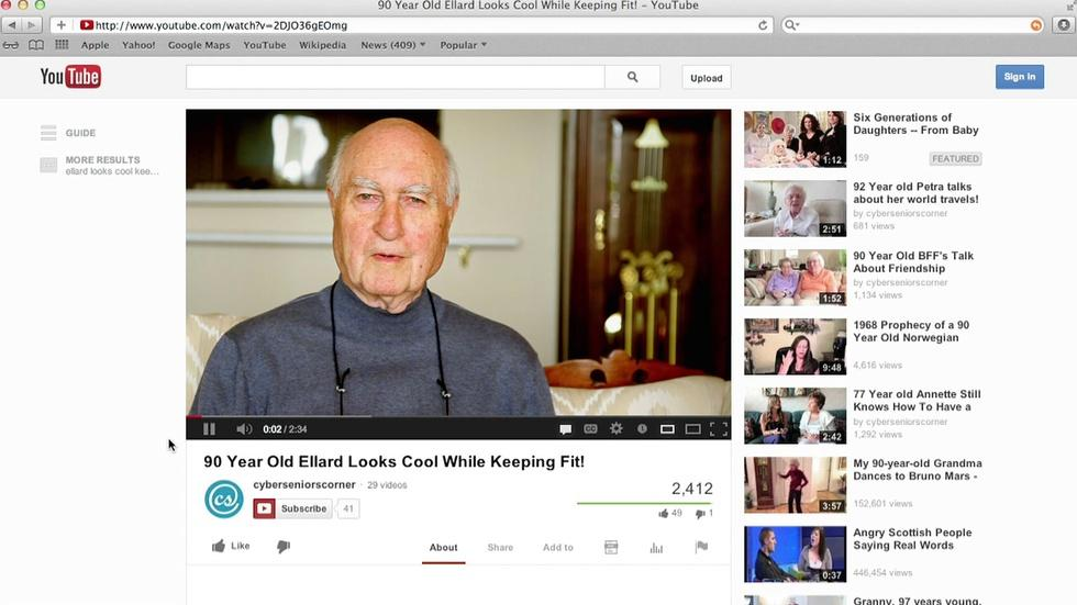 Ellard's YouTube image