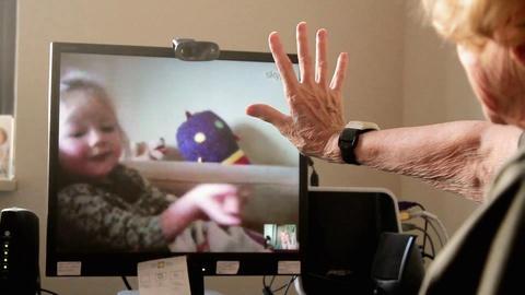 Cyber-Seniors -- Marion Skypes