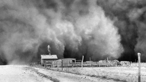 """The Dust Bowl -- The Dust Bowl:  """"End of the world's coming"""" tease"""