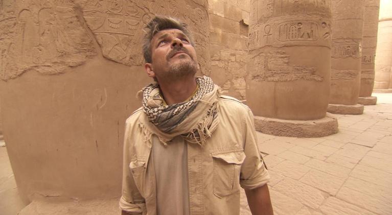 Egypt's Treasure Guardians: John and Maria Hunt for Quarry Marks in Karnak