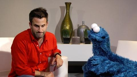 Everything But the News -- Cookie Monster, Life Coach