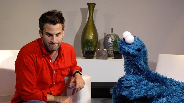 Everything But the News: Cookie Monster, Life Coach