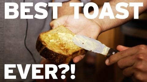Everything But the News -- Is This the Best Toast Ever?