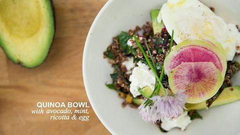 Farm to Table Family -- Summer Quinoa Salad