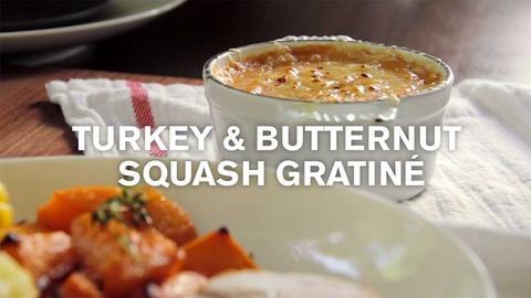 Farm to Table Family -- Baby Thanksgiving: Turkey & Sweet Potato Gratiné